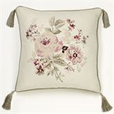 Cherish Embroidered Pillow Fawn 20 Square