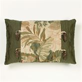 Tropical Haven Tailored Pillow Multi Warm Rectangle