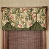 Tropical Haven Tie Up Valance Multi Warm 60 x 18