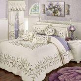 Blossom Grande Bedspread Lavender