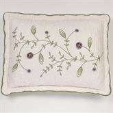 Blossom Quilted Sham Lavender