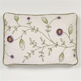 Blossom Tailored Pillow Lavender Rectangle