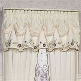 Blossom Tuck Valance Lavender 90 x 20