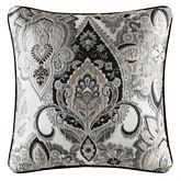 Guiliana Piped Pillow Black 20 Square