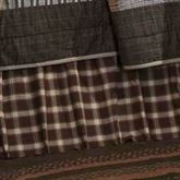 Rory Gathered Bedskirt Multi Warm