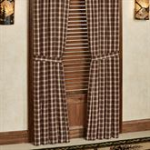 Rory Tailored Curtain Pair Multi Warm 80 x 84