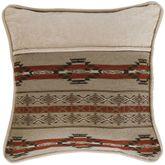 Silverado Striped Pillow Multi Earth 18 Square