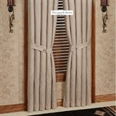 Silverado Tailored Curtain Panel Multi Earth 48 x 84