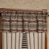 Silverado Tailored Valance Multi Earth 56 x 18
