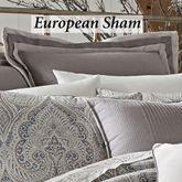 Mykonos Flanged Sham Gray European