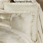 Classique Tailored European Sham Pearl