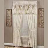 Classique Tailored Curtain Pair Pearl