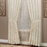Classique Tailored Curtain Pair Pearl