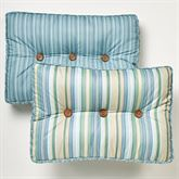 Clearwater Tufted Pillow Multi Cool Rectangle