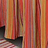 Tropical Paradise Gathered Bedskirt Coral