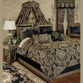 Bellevue Comforter Set Black