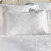 Antique Medallion Fringed Sham