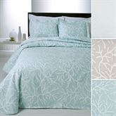 Coral Delight Matelasse Coverlet