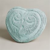 Illusion Heart Pillow Pastel Blue Heart