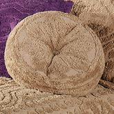Cotillion Tufted Round Pillow Tawny Round