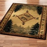 Pine Cone Lodge Area Rug