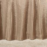 Mini Pleat 18 inch Gathered Bedskirt