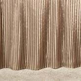 Mini Pleat 18 inch Gathered Bedskirt