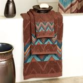 Sierra Bath Towel Set Light Chocolate Bath Hand Fingertip