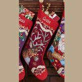 Reindeer Stocking Multi Warm
