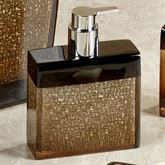 Mirage Lotion Soap Dispenser Amber