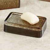 Mirage Soap Dish Amber