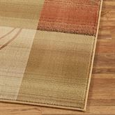 Whimsical Rug Runner Antique Gold