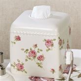 Rosalie Tissue Cover Ivory