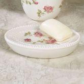 Rosalie Soap Dish Ivory
