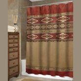 Sonorah Shower Curtain Tan 72 x 72