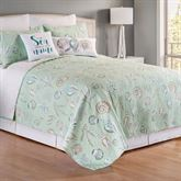 Breezy Shores Mini Quilt Set Spring Green