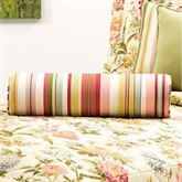 Flora Cameo Piped Pillow Golden Yellow Neckroll