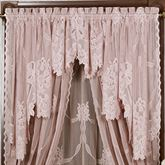 Garland Lace Swag Valance Pair