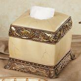 Chalmette Tissue Cover Gold/Ivory