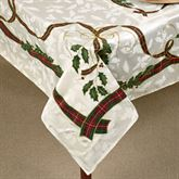 Holiday Nouveau Oblong Tablecloth
