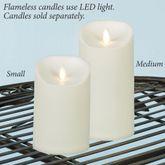 Hadley LED Flameless Candle Ivory