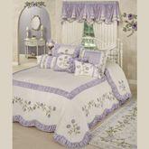 Lavender Rose Grande Bedspread