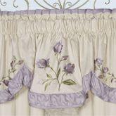 Lavender Rose Insert Valance 36 x 18