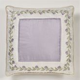 Lavender Rose European Pillow with Sham