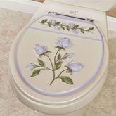Enchanted Rose Standard Toilet Seat Lavender