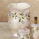 Enchanted Rose Wastebasket Lavender
