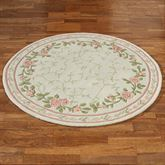 Blush Bloom Round Rug 56 Round