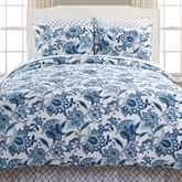 Julianna Mini Quilt Set Royal Blue