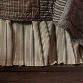 Sawyer Mill Gathered Bedskirt Multi Warm