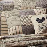 Sawyer Mill Patchwork Quilted Sham Multi Warm
